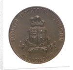 Medal commemorating the Toronto Industrial Exhibition and Admiral Lord Charles Beresford (1846-1919); reverse by P.W. Ellis & Co.