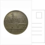 Medal commemorating the Battle of Jutland, 1916; reverse by Harold Stabler