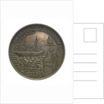 Medal commemorating the Kara Sea Expedition, 1919; obverse by unknown