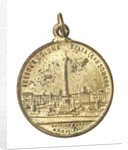 Medal commemorating the British Empire Exhibition, 1924; obverse by N.P.O.