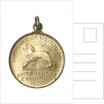 Medal commemorating the British Empire Exhibition, 1924; reverse by N.P.O.