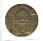 Medal commemorating the 'Queen Mary' commissioned 1936; obverse by Gilbert Bayes