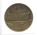 Medal commemorating the 'Queen Mary' commissioned 1936; reverse by Gilbert Bayes