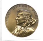 Medal commemorating Sir Vivian Ernest Fuchs (1908-1999); obverse by Kovacs