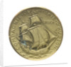 Medal commemorating the bicentenary of Cook's second voyage, 1969; reverse by D. de Pedery Hunt