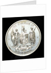 Medal commemorating HMS 'New Zealand'; obverse by W.R. Bock