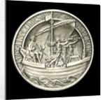 Medal commemorating the Coronation of George VI, 1937; reverse by Spink & Son Ltd.