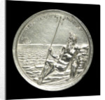 Medal commemorating the Spanish wreck recovered, 1687; reverse by G. Bower