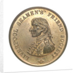Medal commemorating the Liverpool Seamen's Friend Society; obverse by P. Vaughton & Sons