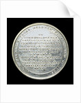 Medal commemorating the loss of the East Indiaman 'Kent', 1825; reverse by Thomas Halliday