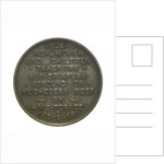 Medal commemorating the wreck of SS 'Brinpura', 1919; obverse by unknown