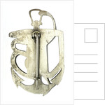 U-boat badge; reverse by unknown