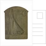 Medal commemorating The International Regatta, Ostend, 1907; obverse by P. Fisch