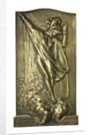 Medal commemorating the raid on Zeebrugge, 1918; obverse by Pieter de Soete