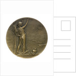 Medal commemorating the visit of the Russian fleet to Toulon, 1893; reverse by J.C. Chaplain
