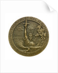 Medal commemorating the sinking of the SS 'Lusitania', 1915; obverse by R. Baudichon