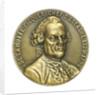 Medal commemorating Commodore de Lamotte Picquet and the cruiser 'Lamotte Piquet'; obverse by P. Lenoir