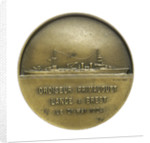 Medal commemorating La Cordeliere and the cruiser 'Primauguet'; reverse by R. Cochet