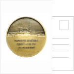 Medal commemorating the cruiser 'Algérie' by A. Morlon