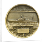 Medal commemorating the school cruiser 'Jeanne d'Arc'; reverse by Georges Henri Prud'homme