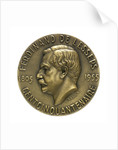 Medal commemorating the 150th anniversary of Ferdinand de Lesseps, 1955; obverse by R.B. Baron