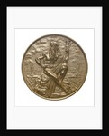 Medal commemorating the opening of the Keil canal, 1895; obverse by G. Loos