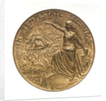 Medal commemorating the Hamburg society of underwriters; obverse by B. Kruse