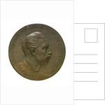 Medal commemorating Kaiser Wilhelm II, Commodore of the Kiel Yacht Club; obverse by P. Sturm