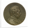 Medal commemorating SS 'Imperator', Hamburg American Line; obverse by C. K