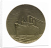 Medal commemorating SS 'Imperator', Hamburg American Line; reverse by C. K