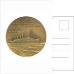 Medal commemorating Prince and Princess Henry of Prussia and the 'Cap Trafalgar'; reverse by M. Hansen