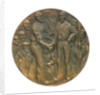 Medal commemorating the rescue of the crews of seven Dutch merchantmen; obverse by J.J. van der Goor