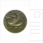 Memorial medal commemorating the Dutch lost at sea, 1914-1918; reverse by C.J. van der Hoef