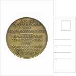 Medal commemorating Admiral and General C. J. Snijders (1852-1932); reverse by T. Dupuis