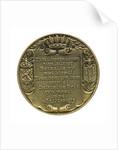 Medal commemorating Admiral Jan van Galen (1604-1653); reverse by J. van der Goor