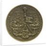 Medal commemorating Admiral Cornelis Tromp (1629-1691); reverse by J.J. van der Goor