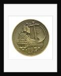 Medal commemorating Admiral Michel Adriaenszoon de Ruyter (1607-1676); reverse by J.J. van der Goor