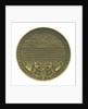 Medal commemorating Lieutenant Jan Carel Josephus van Speyk (1803-1831); reverse by J.J. van der Goor