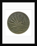 Medal commemorating the combined action in the Java Sea 1942-1952; reverse by B. Liefting