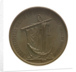 Medal commemorating the Imperial Society for the development of the Russian Merchant Service; reverse by B.V. Alexejeff