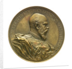 Medal commemorating the Black Sea Fleet re-established, 1886; obverse by A. Scharff