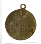 Medal commemorating the action at Chemulpo, 1904; reverse by unknown