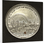Medal commemorating the floods in Europe, 1784; reverse by J.C. Reich