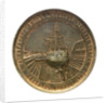 Medal commemorating the raising of HMS 'Sultan', 1889; reverse by P. Ferrea
