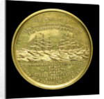 Medal commemorating the first transatlantic cable, 1858; reverse by Tiffany & Co.