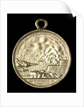 Medal commemorating the Brazilian fleet off Humaita, 1868; obverse by unknown