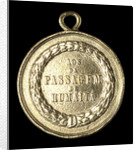 Medal commemorating the Brazilian fleet off Humaita, 1868; reverse by unknown