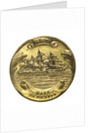 Medal commemorating the action off Iquique, 1879; obverse by unknown