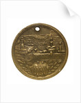 Medal commemorating the visit of the 'Duguay-Trouin' to New York, 1900; obverse by unknown
