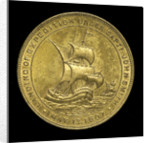 Medal commemorating the tercentenary of the settlement of Jamestown, 1907; reverse by unknown